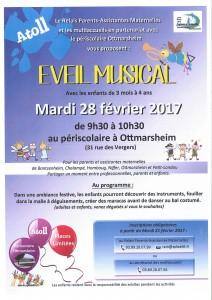 ATOLL EVEIL MUSICAL 28 02 2017