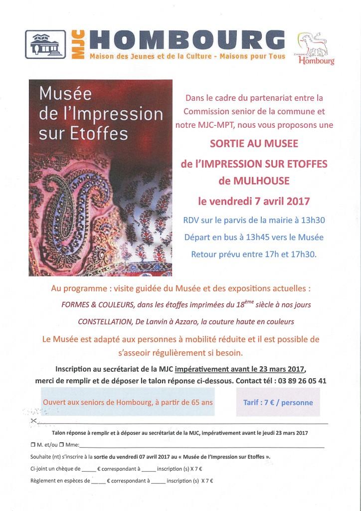 SORTIE SENIORS - MUSEE ETOFFES
